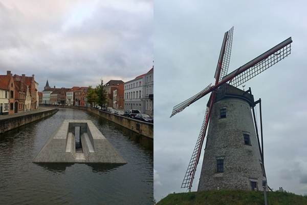 windmühle in belgien