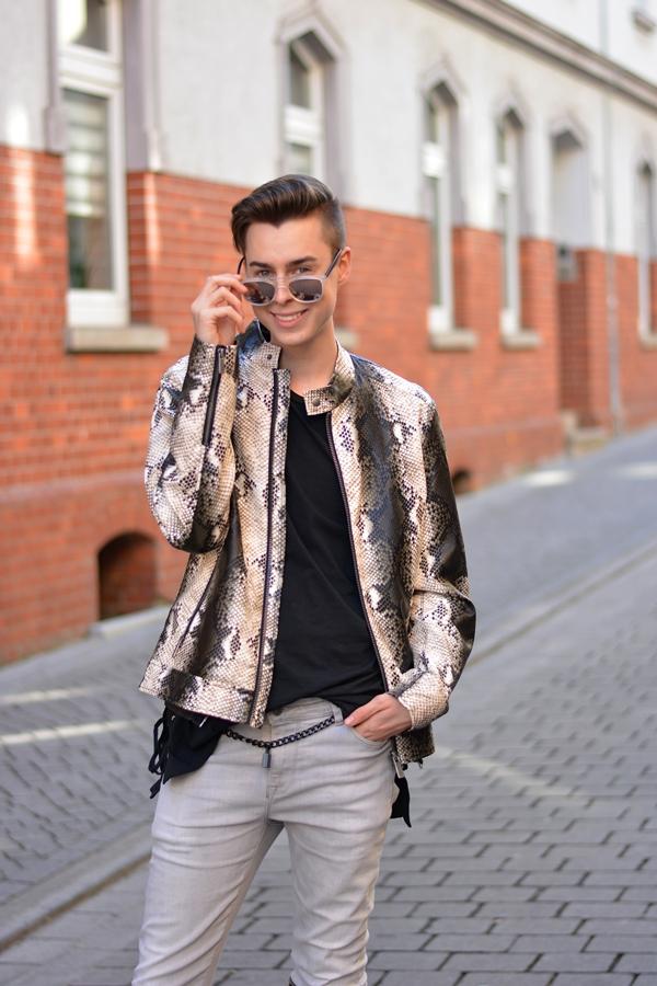 Outfit Blogger Lederjackentrends