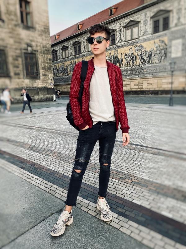 Modeblogger im Juli in Dresden