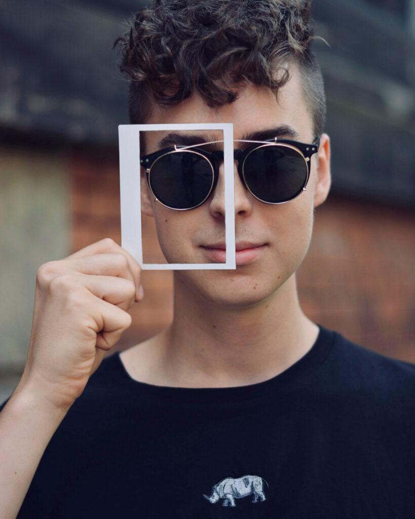 kreatives Foto mit Polaroid